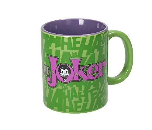 Close up tazza dc comics batman - the joker logo