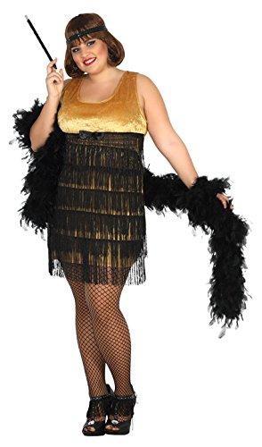 Imagen de atosa 31481–charleston, para mujer disfraz, tamaño xxl, 44/46