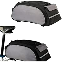 SODIAL(R) Roswheel Alforja Bolsa para Bici MTB Ciclismo Porta Moviles Negro