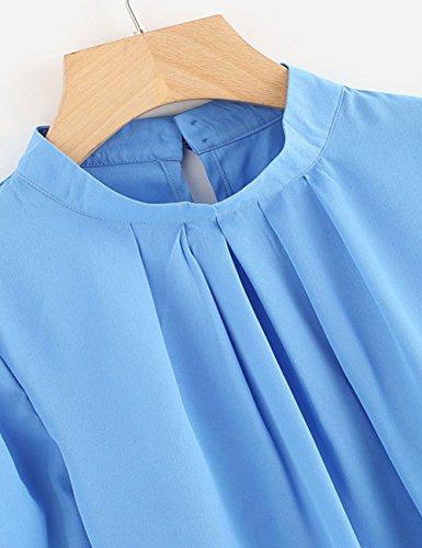 Weant - Camicia - Moda - Maniche lunghe  -  donna Light Blue