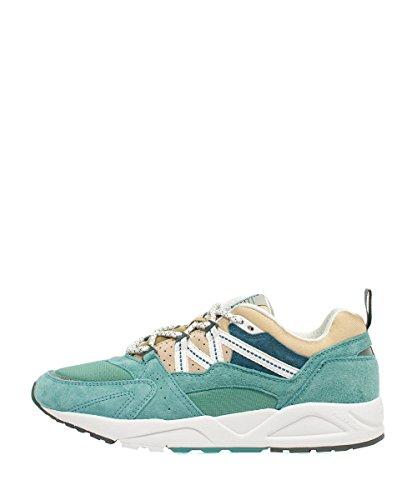 Karhu Fusion 2.0 Mineral Blue Pale Khaki Sneakers - Scarpe da Ginnastica Verde