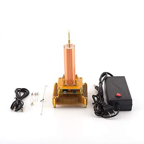 color tree Musik Tesla Coil Plasma Lautsprecher Wireless übertragung Lernen Bildung Experiment Modell Geschenk Gold