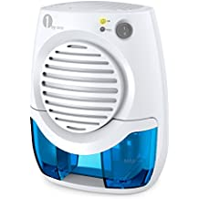 1byone 400ml potente mini deshumidificador termoeléctrico, Blanco