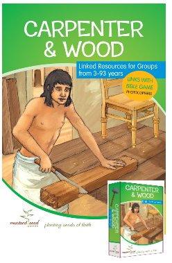 (Carpenter und Holz Bibel Aktivität und Ressourcen Book Plus Card Games Pack)