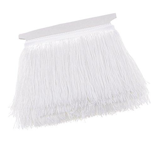 NF&E 10 Meters Long Tassel Fringe Trim Sewing Latin Dress Garment Curtain Accessories