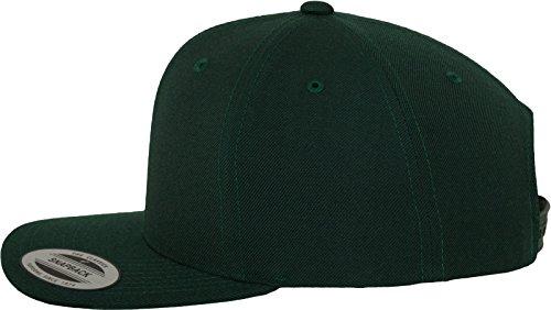 Flexfit Classic Snapback Cap, Mütze Unisex Kappe für Damen und Herren, One  Size, plus extra Kindergröße spruce One Size