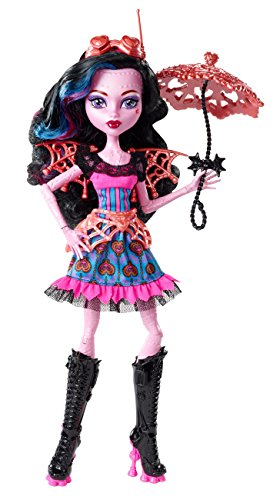 Mattel Monster High CCB40 - Fatale Fusion Hybriden Draculaura/Robecca, poupée