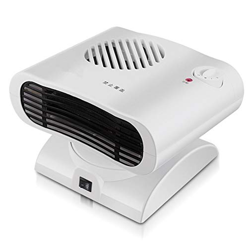 Calentador de ventilador eléctrico portátil, Mini calentador de ventilador de espacio para...