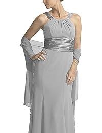 Amazon.fr   Argenté - Echarpes et foulards   Accessoires   Vêtements 33b7c2a291b