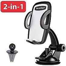 iVoler® [2-in-1] Supporto Auto Smartphone, Universale Porta