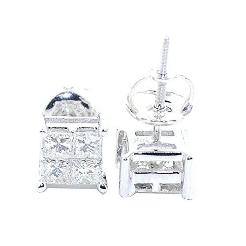 earrings-midwestjewellery-mujer-corte-princesa-pendientes-de-tuerca-10-k-white-gold-06-quilates-diam