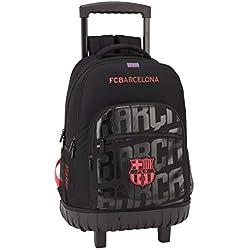 FC Barcelona Mochila gde; con Ruedas Compact f.c.barcel 32x45x21 Color Azul 45 cm 611927818.