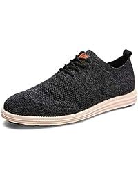 Hombres Negocios Formal Oxfords Verano Casual Zapatos Vestido de Novia Zapatos Transpirable luz Zapatos