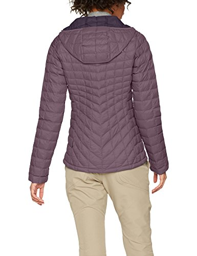 The North Face Damen Thermoball Hoodie Hike Black Plum