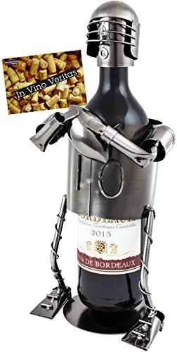 BRUBAKER Weinflaschenhalter Foot...