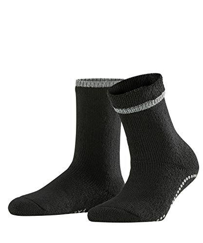 FALKE Damen Socken 47540 Cuddle Pads Homesock, Schwarz (Black 3009), 39/42
