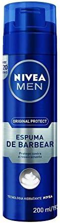NIVEA MEN Protect & Care Shaving Foam, Aloe Vera & Provitamin B