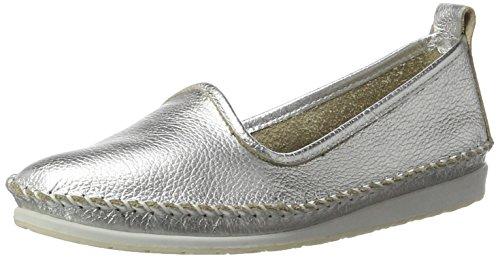 Andrea Conti 0022701, Mocassins Femme Silber (Silber)