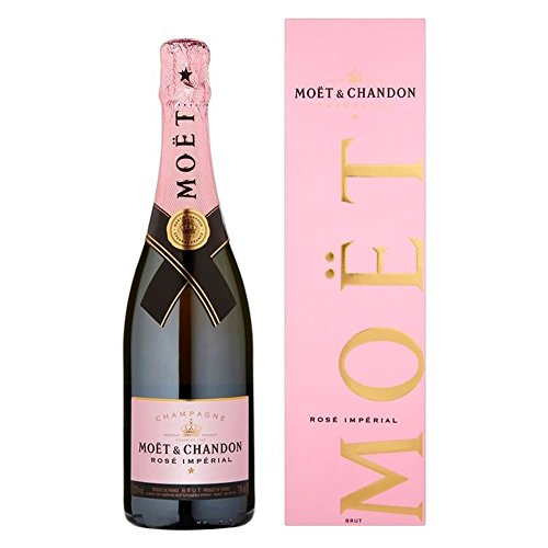 Moet & Chandon Brut Impérial Rose Champagne NV 75cl - (Packung mit 6)