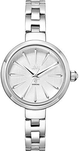 JBW Emerald Reloj DE Mujer Cuarzo 34MM Correa Y Caja DE Acero J6326B