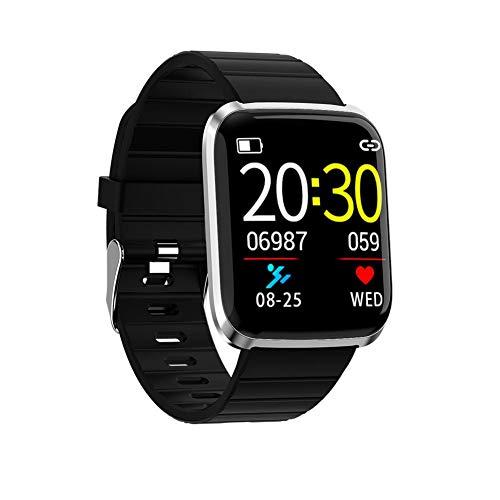 Herren Smart Watch Multifunktions-Fitness-Tracker mit Pulsmesser Aktivität Tracker-Uhr Wasserdichte Sportuhr