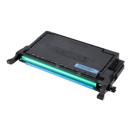 Els Cyan Toner (Samsung CLT-C5082L/ELS Original Toner (Hohe Reichweite, Kompatibel mit: CLP-620/CLP-670/CLX-6220/CLX-6250 Series) cyan)