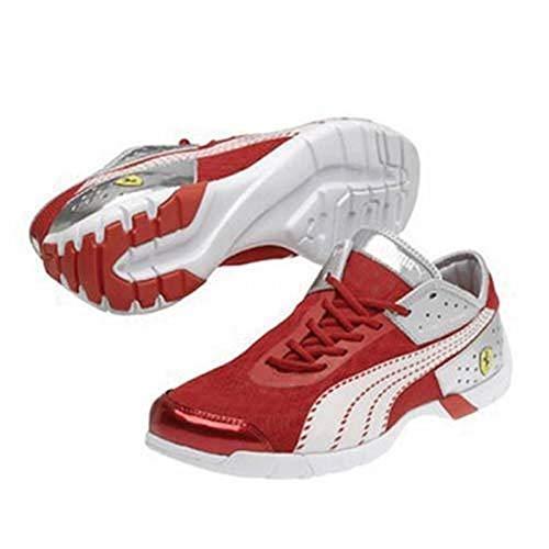 Sneaker Ferrari FUTURE CAT SUPER LT Rot/Weiß, Herren, 42 - Puma Ferrari Future Cat