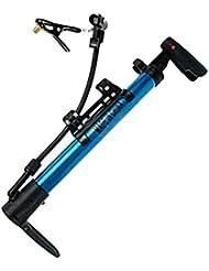 Mini pompe à vélo portable Pompe à main de pneu Gonfleur pompe à air pneus