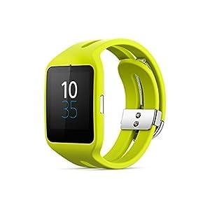 "Sony SmartWatch 3 SWR50 1.6"" GPS (satélite) Amarillo reloj inteligente - Relojes inteligentes (4,06 cm (1.6""), 4 GB, GPS (satélite), 48 h, 45 g, Amarillo)"
