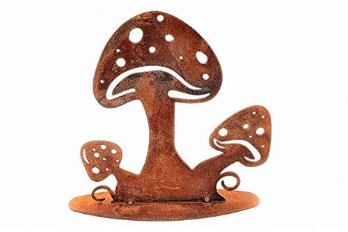 Rost Pilz, Edelrost Schwammerl/Metalldeko für den Herbst, Verzieren Sie den Hauseingang, Komode oder Fensterbänke