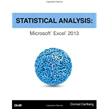 Statistical Analysis: Microsoft Excel 2013