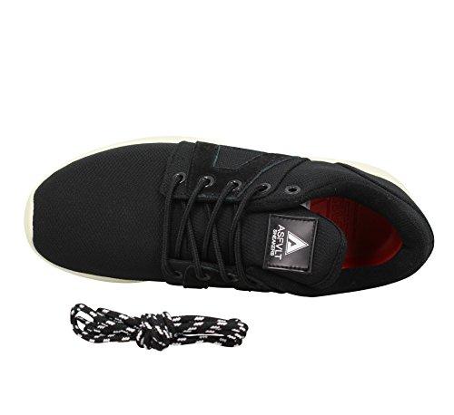 Asfvlt Super Mesh noir, baskets mode homme Noir