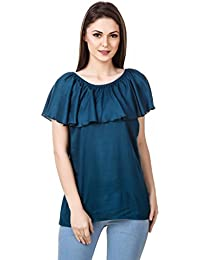 Mind The Gap Rayon Rayon Solid Top