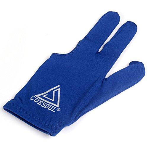 CUESOUL 10pcs / set 3-Finger-Handschuhe Billard Snooker Queue Handschuhe Test
