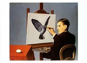 La Clairvoyance Art Poster Print de Rene Magritte, Taille: 72 x 51 cm