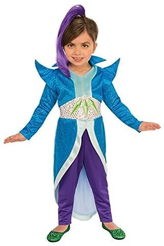 Rubies Shimmer and Shine Girls Sorceress Zeta Costume XS