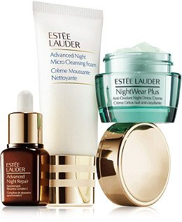 Estee Lauder Narrow Edition Detox by Night Started Now Set