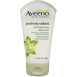 Aveeno Positively Radiant Skin Brightening Daily Scrub 5 Oz