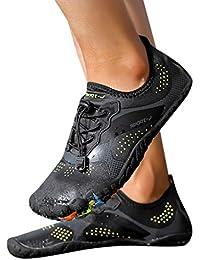 Bestow Zapatillas de Buceo Zapatillas de Snorkel Agua de interferencia al  Aire Libre de Playa de natación para… ec4143aa1d8