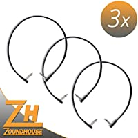 3x Rock madre Flat Patch Cable 60cm–Cavo patch