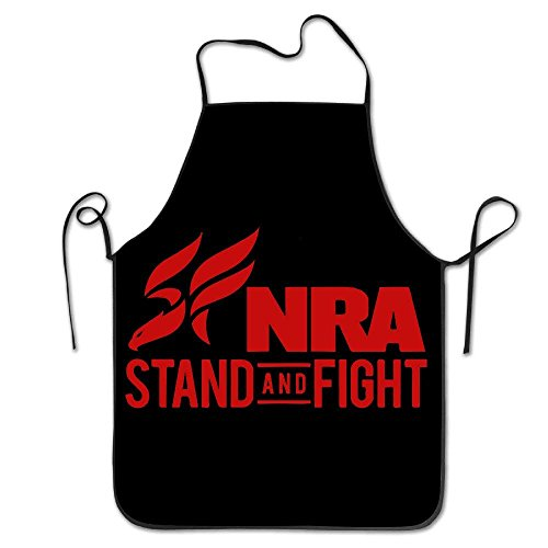 fengxutongxue NRA Stand and Fight Chef Kitchen Cooking and Baking Bib Apron -