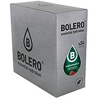 Bolero Bebida Instantánea sin Azúcar, Sabor Sandía - Paquete de 24 x 9 gr - Total: 216 gr