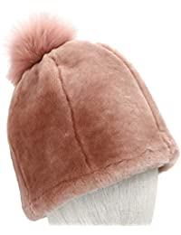 ab47d2f0825 UGG Women s Solid Water Resistant Sheepskin Beanie