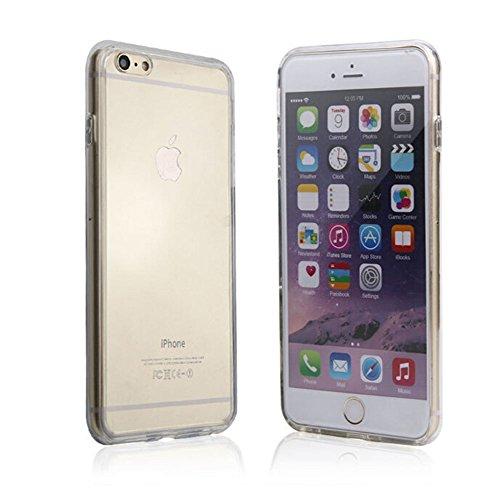 Hosaire Hülle für Apple iphone 6/6s,Handy Schutzhülle Mode Ultra-dünnes Staubdicht Silikon Phone Handyhülle Shell,Transparent 6 Plus