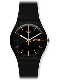 Swatch Unisex-Armbanduhr Analog Plastik SUOB704