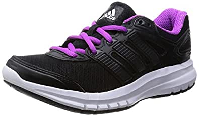 adidas Duramo 6 W Scarpe Sportive, Donna, Cblack/Cblack/Flapnk, 38 2/3