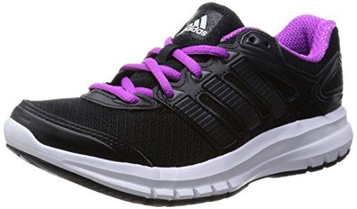 adidas Originals Damen Duramo 6 Laufschuhe Schwarz Core Black/Flash Pink S15), 39 1/3 EU