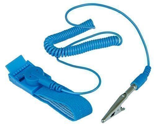 Erdungsarmband Anti Statik Armband für Elektriker oder Technische Arbeit im Nanobereich, Erdung Band in Blau, antistatisches ESD Anti Static Discharge, von Kobert Goods