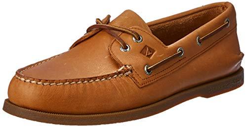 Sperry 0197640 - Náuticos de Cuero para Hombre, Color marrón, Talla 44.5