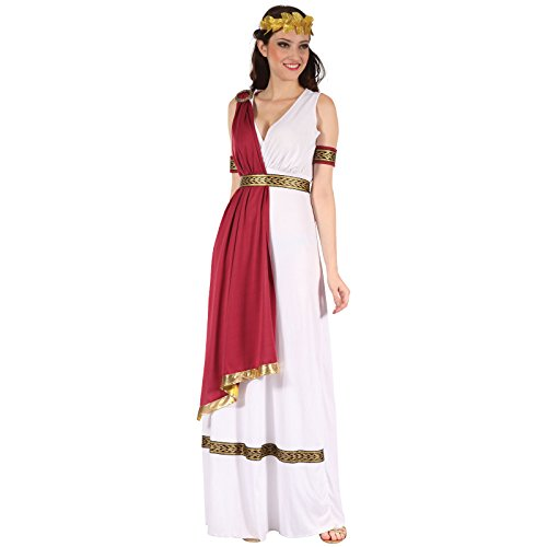Spassprofi Edles Kostüm Römerin Größe 38-42 Antike Römerinkostüm ()